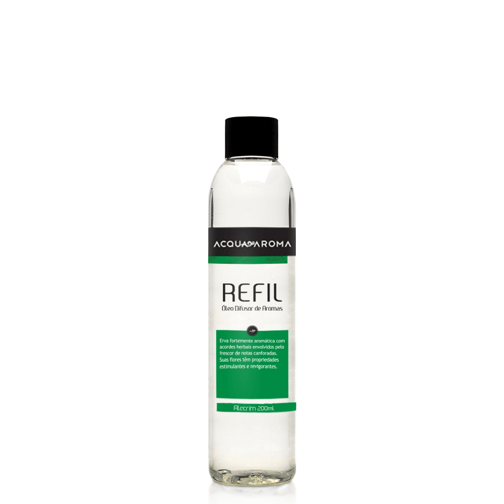 Refil Difusor Alecrim 200 ml - Acqua Aroma
