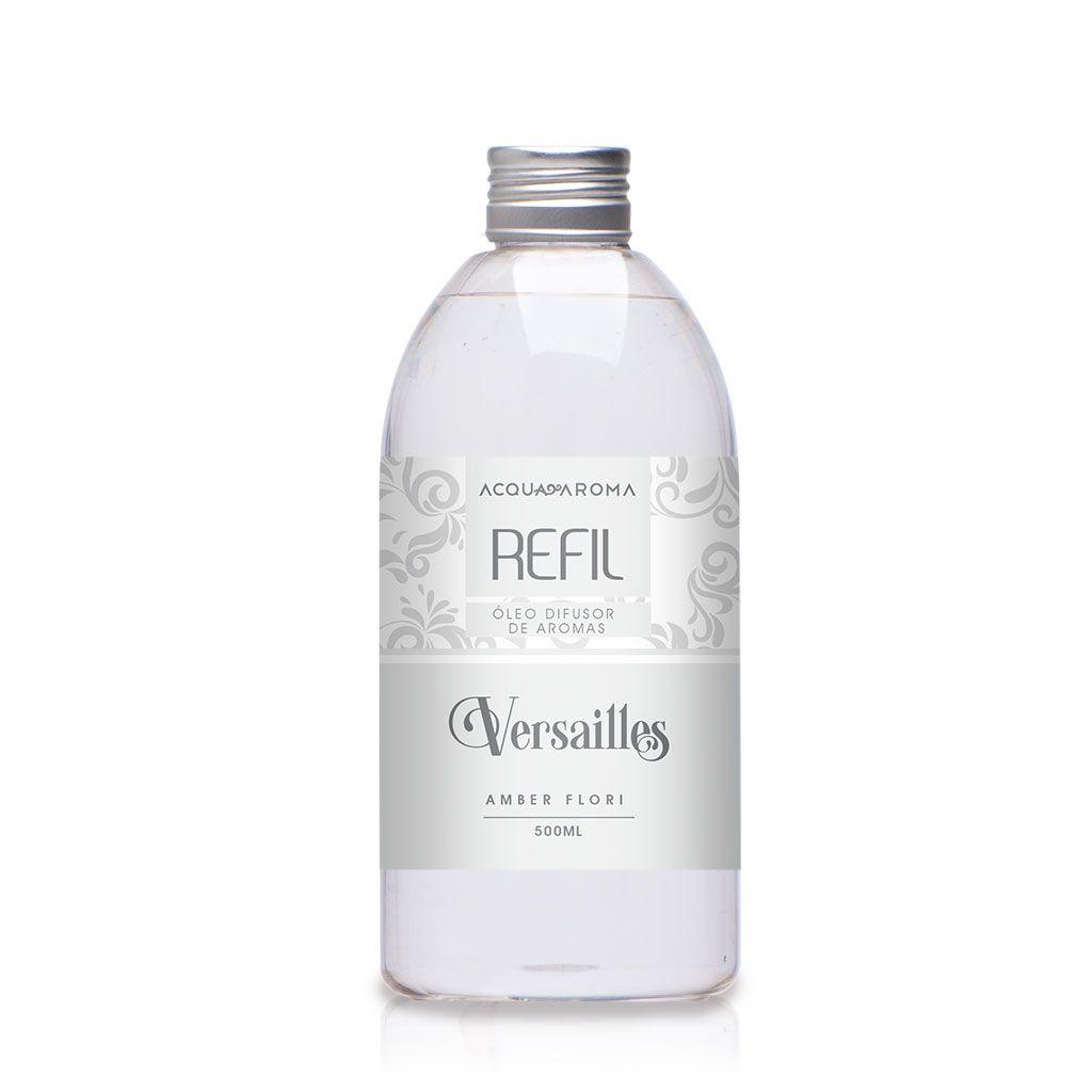 Refil Difusor de aromas Versailles 500ml Amber Fiori- Acqua Aroma