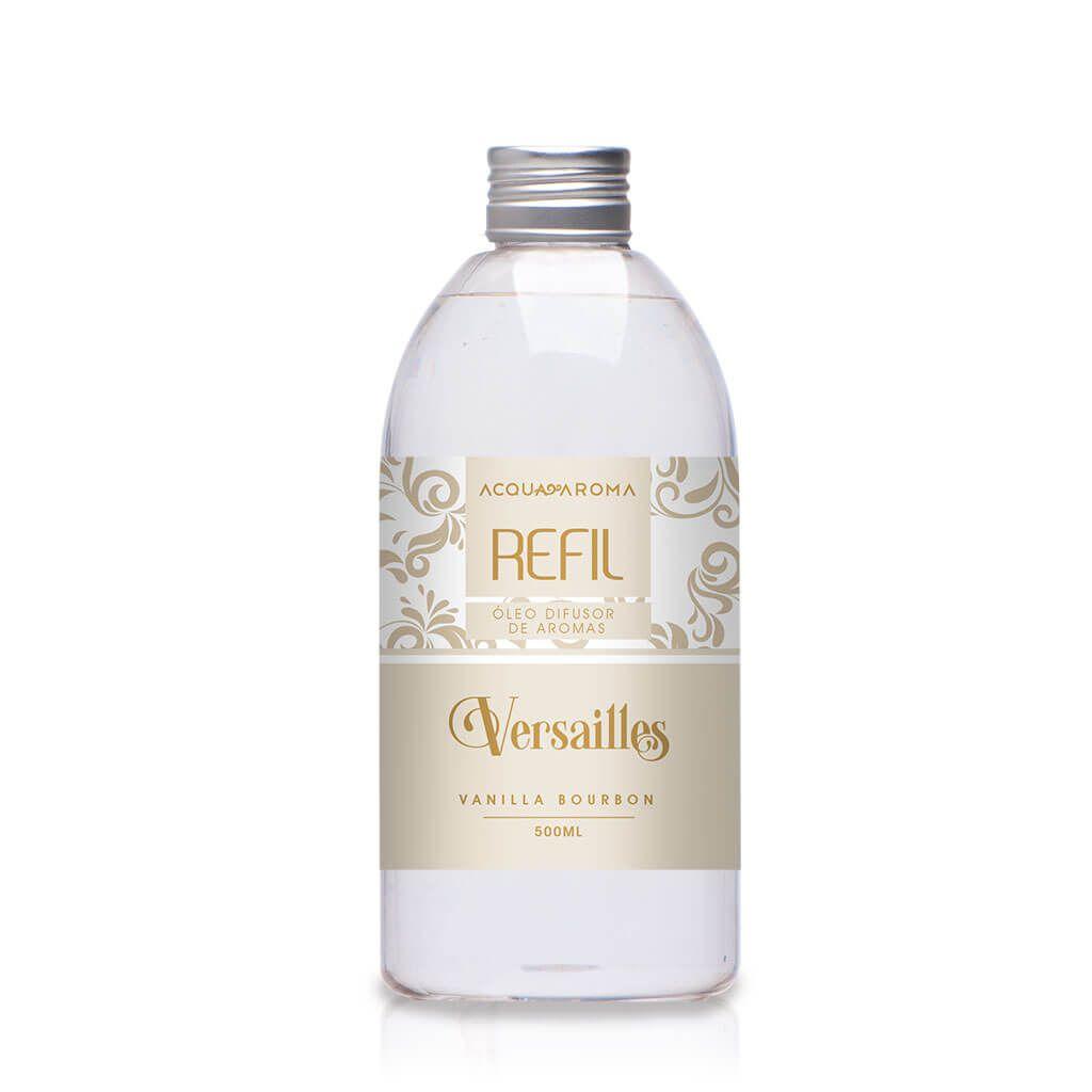 Refil Difusor de aromas Versailles 500ml Vanilla Bourbon - Acqua Aroma