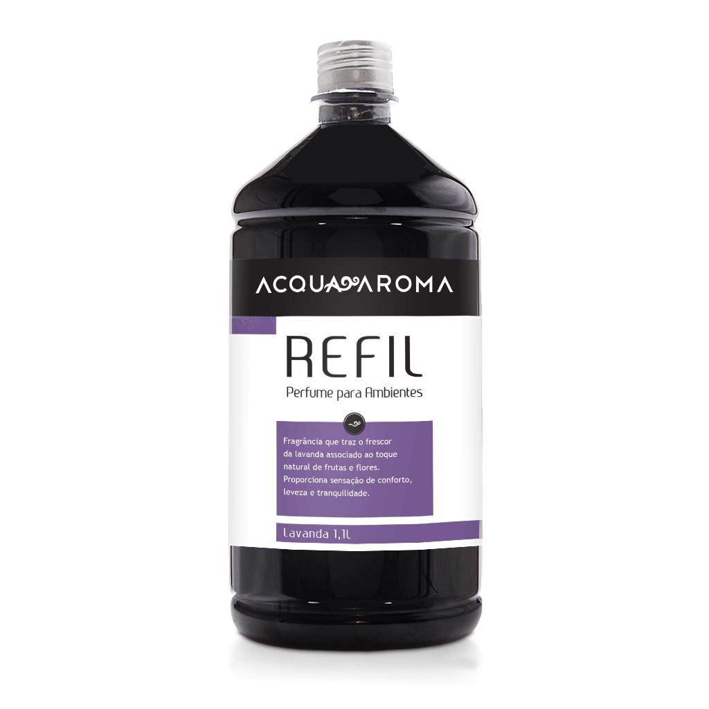 Refil Perfume para Ambientes 1,1L Lavanda - Acqua Aroma