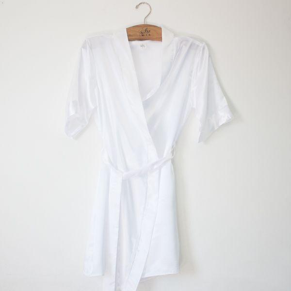 Robe de Cetim Branco