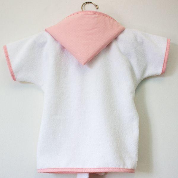 Roupão Baby - Coleção Totty Rosa - Art Bord