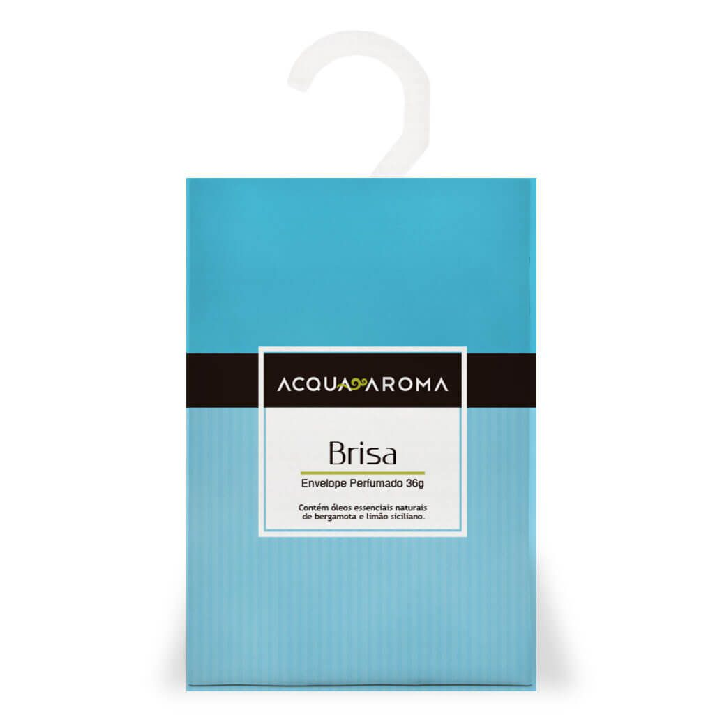 Sachê Perfumado 36g Brisa - Acqua Aroma
