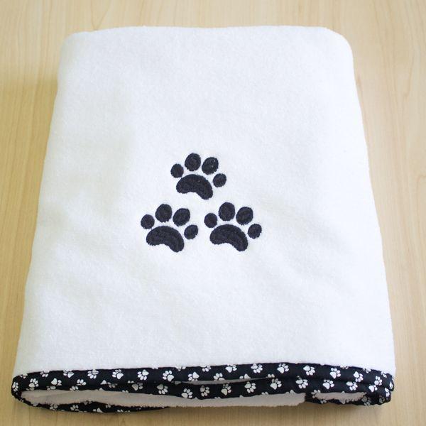 Toalha Dog Snoopy - Preta