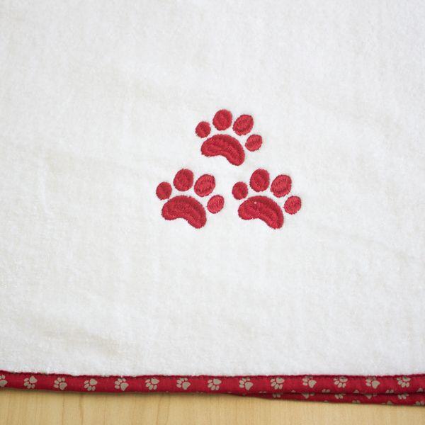 Toalha Dog  Spike - Vermelha
