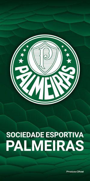 Toalha Veludo Palmeiras