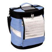 Bolsa Térmica Ice Cooler Mor Azul - 18 Litros