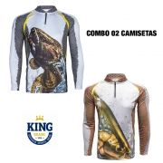 COMBO CAMISETA KING SUBLIMADA 04