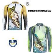 COMBO CAMISETA KING SUBLIMADA 05 - P