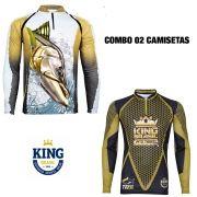 COMBO CAMISETA KING SUBLIMADA 06 - EXG