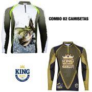 COMBO CAMISETA KING SUBLIMADA 08 - P
