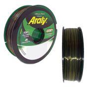 Linha Monofilamento Army Bicolor Araty - 100m