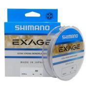 Linha Monofilamento Shimano Exage - 300m