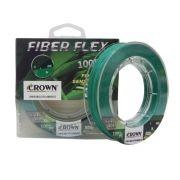 Linha Multifilamento Crown Fiber Flex 100%PE - 100m