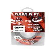 Linha Multifilamento Crown Fiber Flex 8X - 100m