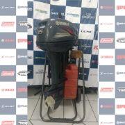 MOTOR SEMI - NOVO YAMAHA 15HP - ANO 2012 - 1073599