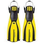 Nadadeira Mares Plana Avanti X-3 XL Amarela