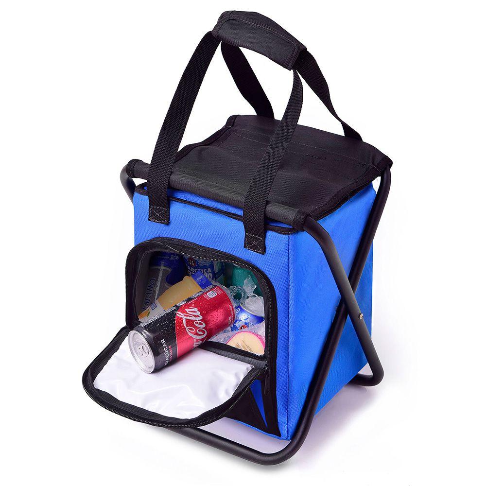 Banqueta Pescador Ibox com Cooler 10 Litros