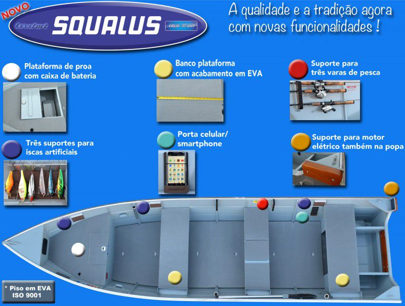 Barco SQUALUS - Leveforte