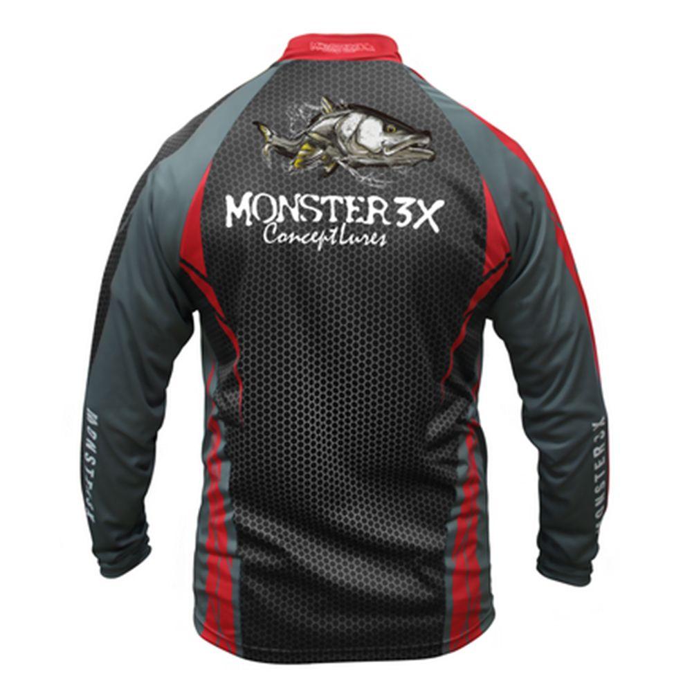 Camiseta Monster 3X New Fish 04