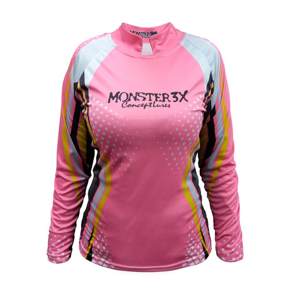 Camiseta Monster 3X New Fish Feminina