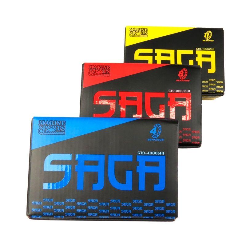 Carretilha Perfil Baixo Saga GTO 8000