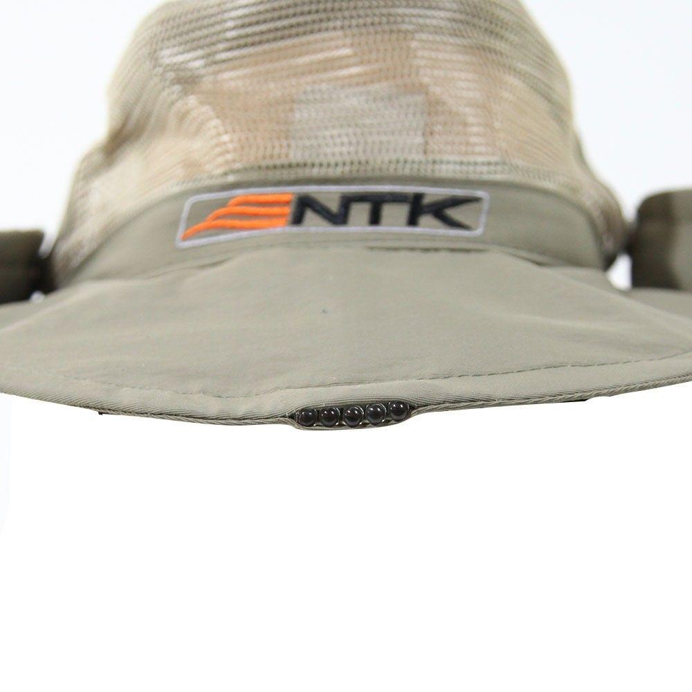 Chapéu Panamá NTK - 5 LEDs