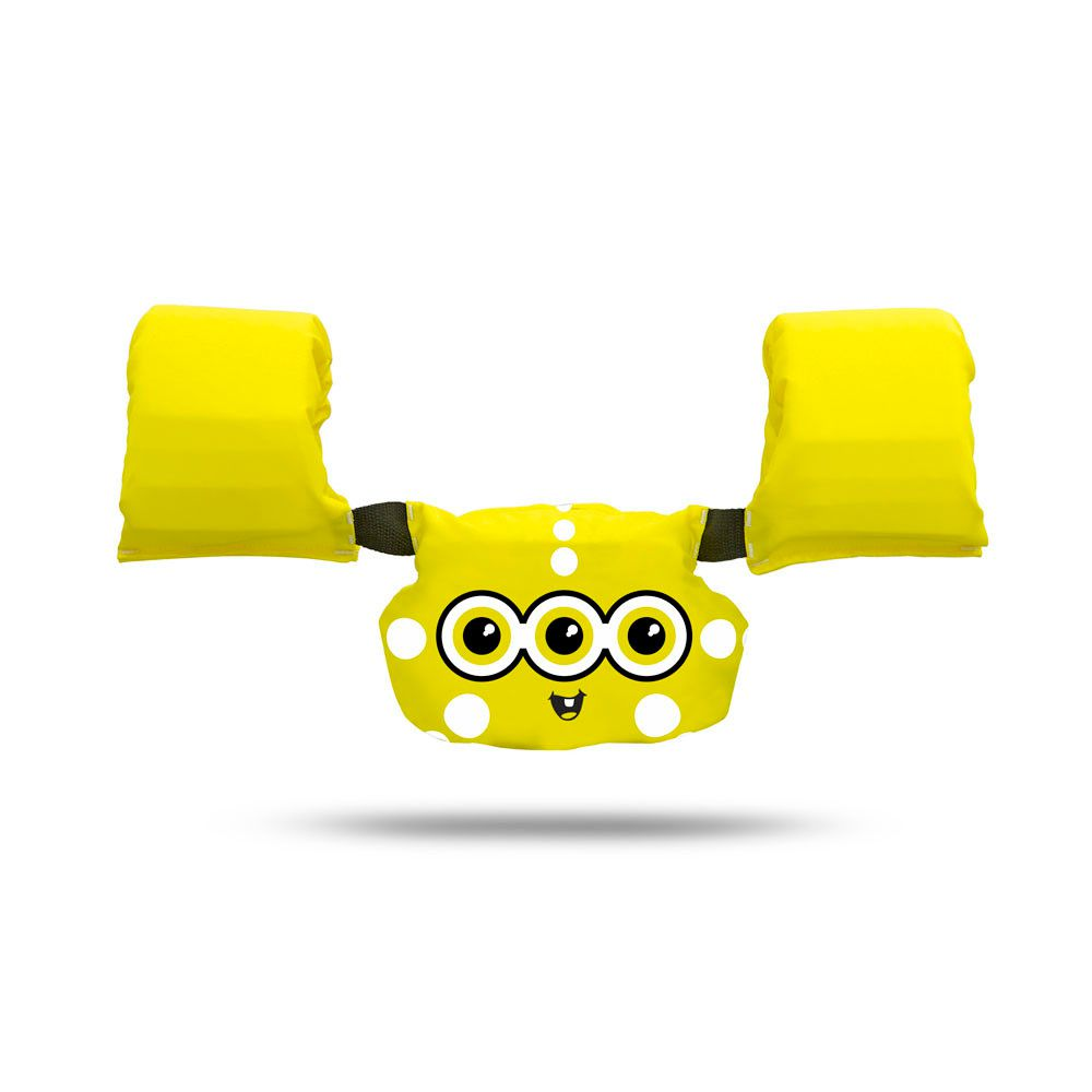 Colete Salva-Vidas Ativa Kids (Infantil) Amarelo