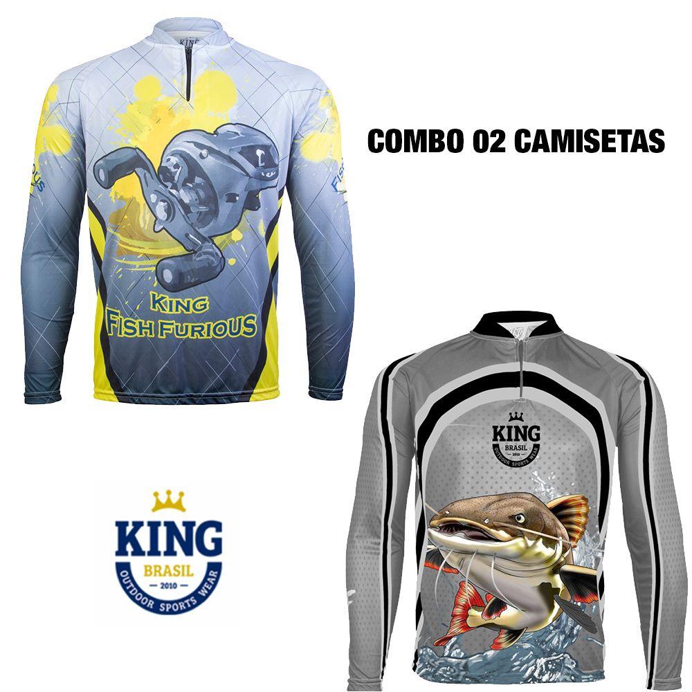 COMBO CAMISETA KING SUBLIMADA 07 - P