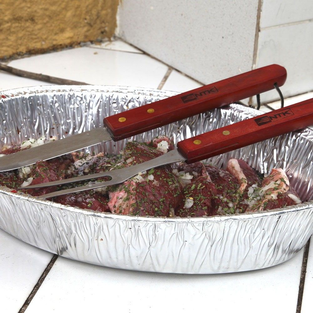 Conjunto Para Churrasco Fork NTK - 3 Peças