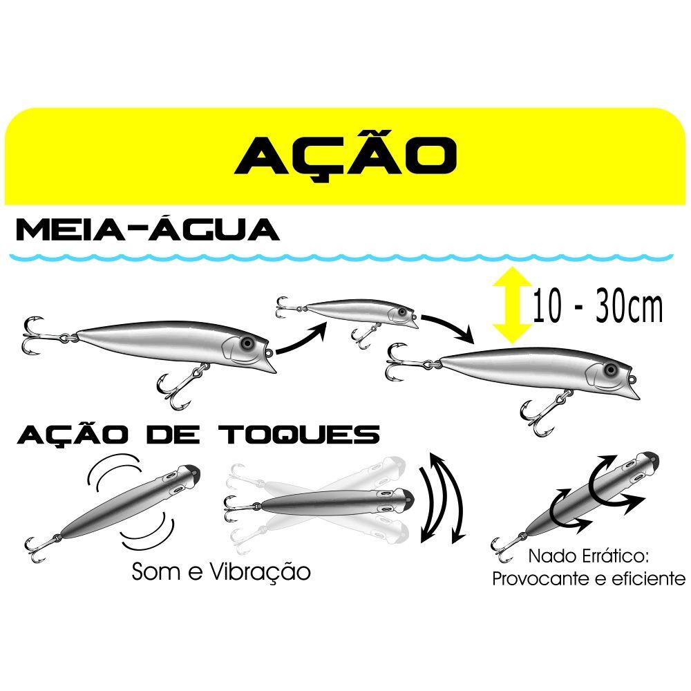 Isca Artificial de Meia Água Brava 90/110