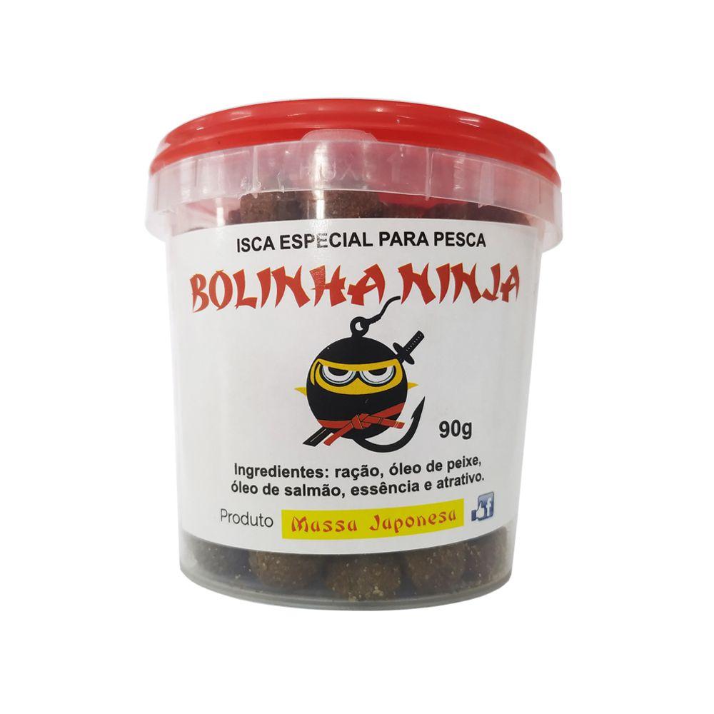 Isca Especial Bolinha Ninja - Massa Japonesa