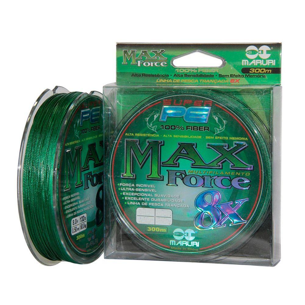 L MAXFORCE MULT 8X PE 0,30MM 300M