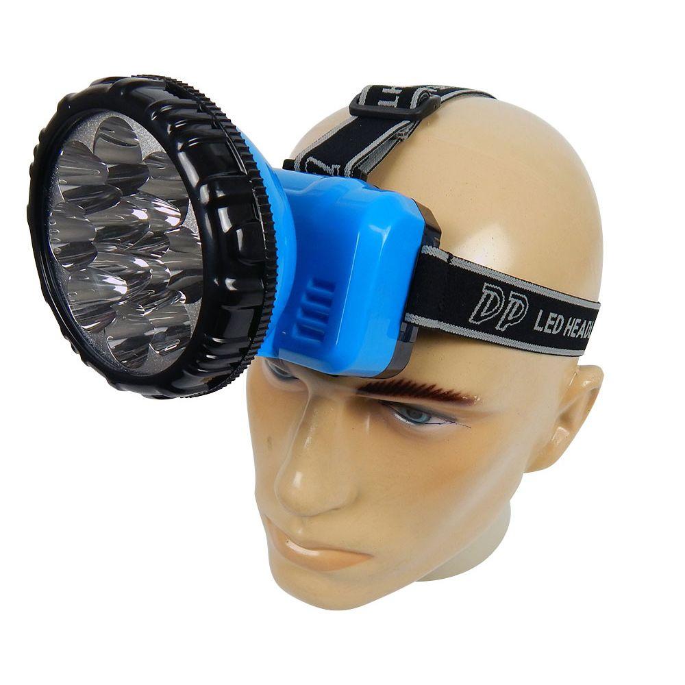 Lanterna de Cabeça LED-722B - 12 LEDs