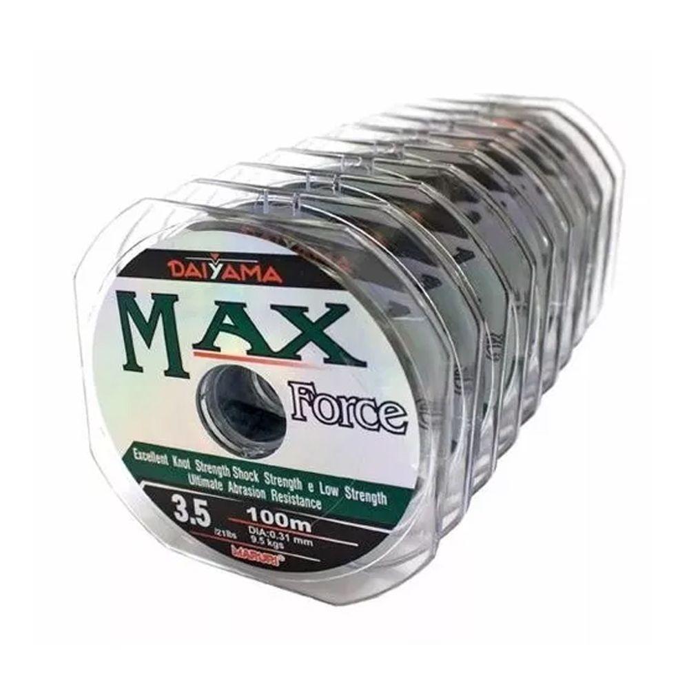 Linha Monofilamento MaxForce - 100m
