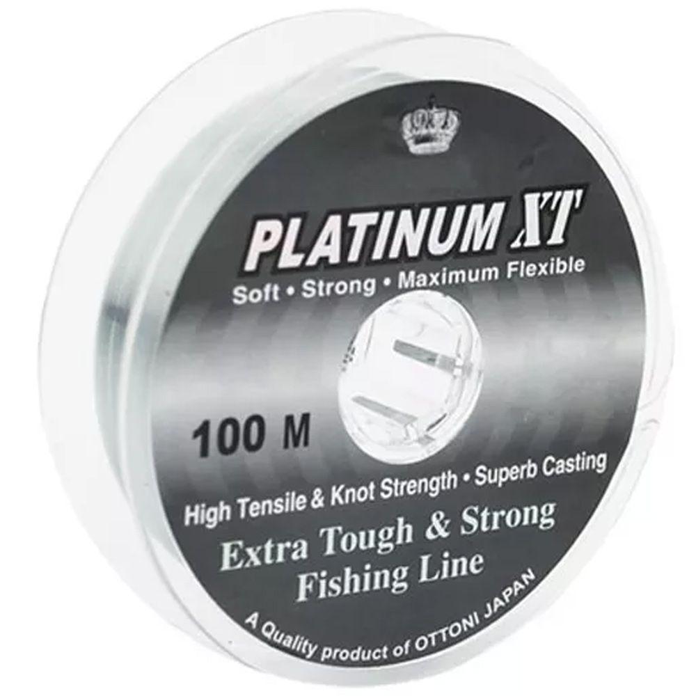 Linha Monofilamento Platinum XT - 100m
