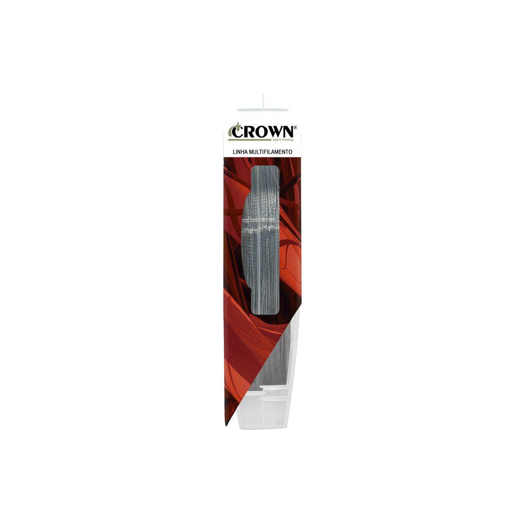 Linha Multifilamento Crown Fiber Flex 8X - 200/300m