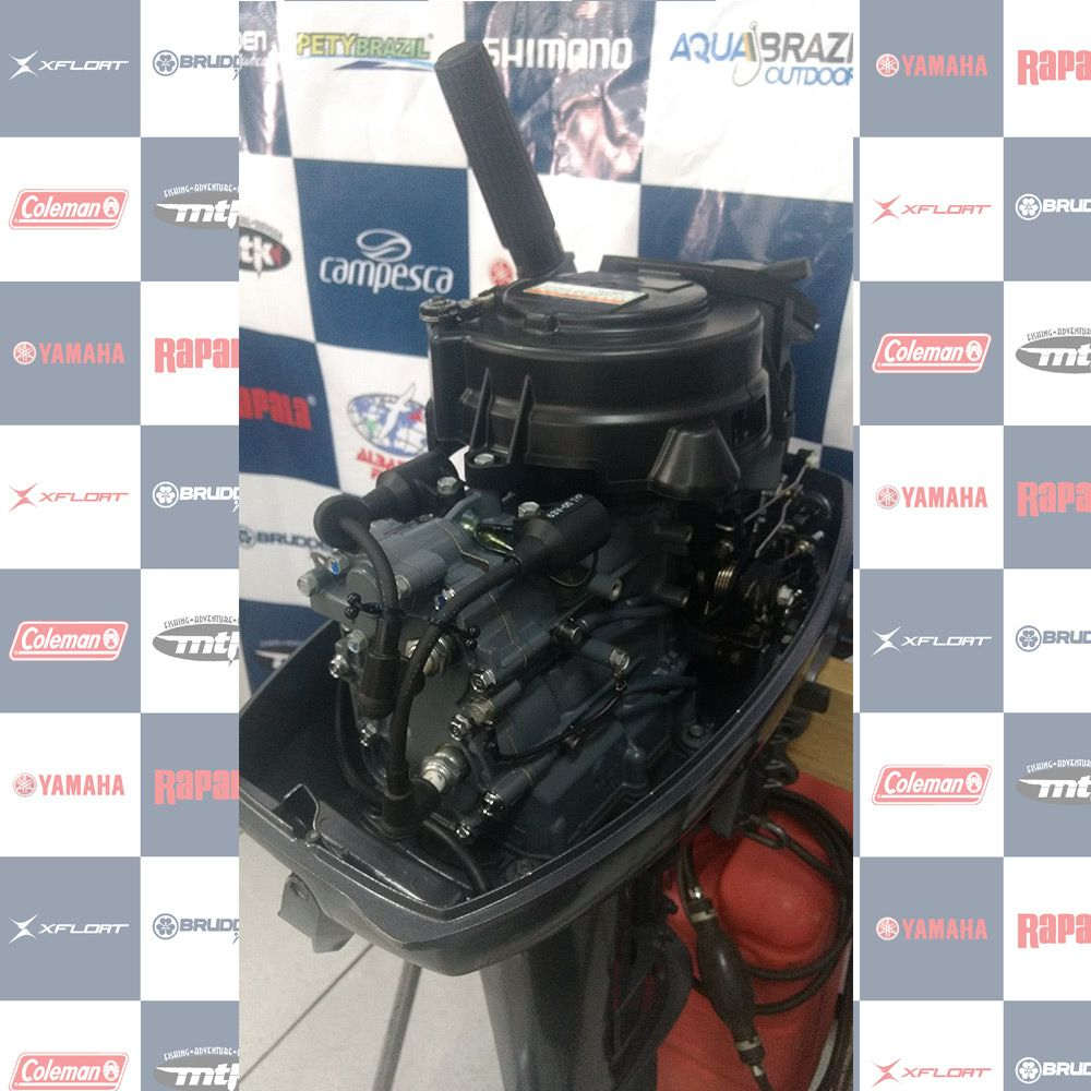 MOTOR SEMI - NOVO (usado) YAMAHA 15HP - ANO 2012 - 1079922
