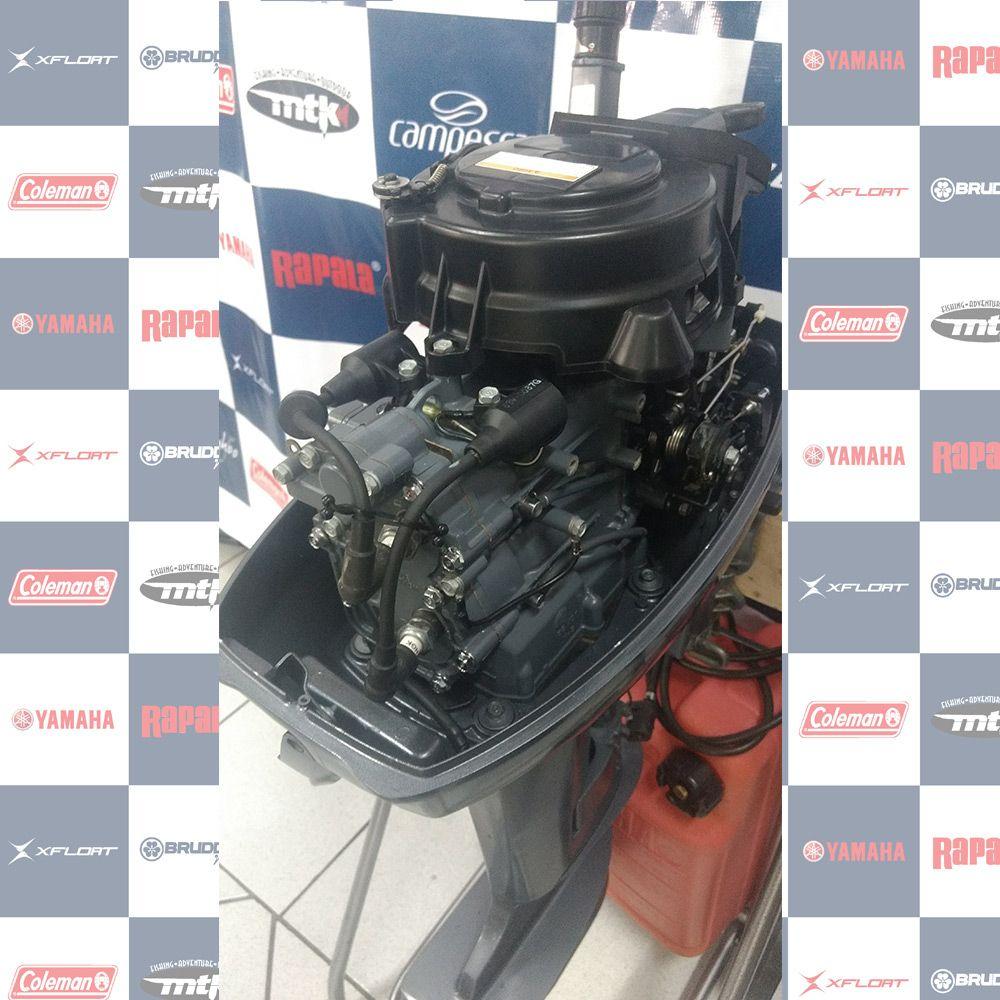 MOTOR SEMI - NOVO (usado) YAMAHA 15HP - ANO 2014 - 1097568