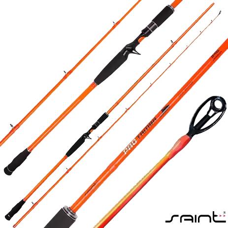 Vara Carretilha Saint Pro Tamba Orange 25-50L