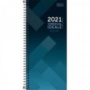 AGENDA EXECUTIVA ESPIRAL DIÁRIA COMERCIAL IDEALE 2021 - 1 UNIDADE