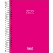 AGENDA TILIBRA ESPIRAL DIÁRIA 11,7 X 16,4 CM PEPPER ROSA 2022 - UMA UNIDADE