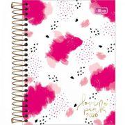 Agenda Tilibra Espiral Diária Love Pink 2020