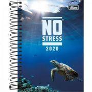 Agenda Tilibra Espiral Diária No Stress 2020