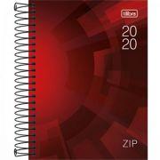 Agenda Tilibra Espiral Diária Zip 2020