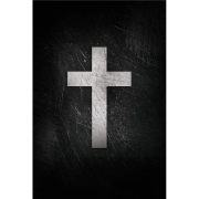 BÍBLIA ACF SOFT TOUCH CRUZ BRANCA - CAPA DURA - LEITURA PERFEITA