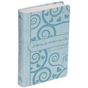 Bíblia da Mulher Que Ora - Nvi - Azul - Stormie Omartian