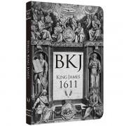 BÍBLIA KING JAMES 1611: ULTRAFINA LETTERING RETRO
