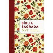 Bíblia Nvt - Capa Flores