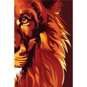 BÍBLIA NVT LION COLOR FIRE - LETRA NORMAL